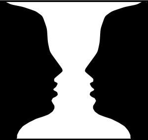 #vase or #twofaces PICK A SIDE