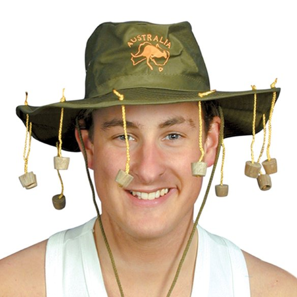 The national headgear since 1864, cork hats are commonly seen on tourists in Australia